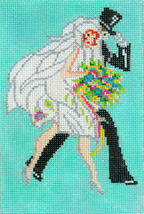 click here to view larger image of Art Deco - Wedding Walk (hand painted canvases)