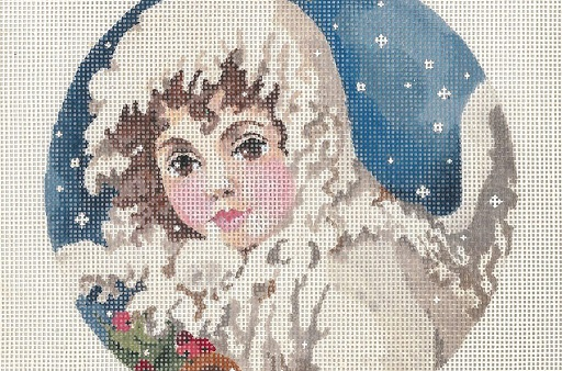 click here to view larger image of Angel Of The Snow (hand painted canvases)