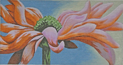 click here to view larger image of Gerber Daisy Peachy Morning (hand painted canvases)