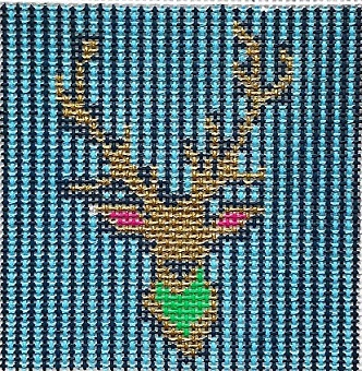 click here to view larger image of Steve the Stag (hand painted canvases)