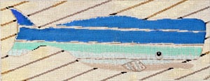click here to view larger image of Beach Whale (hand painted canvases)