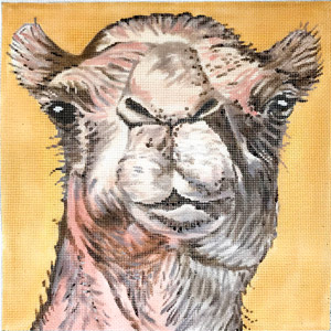 click here to view larger image of Camel (hand painted canvases)