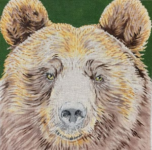 click here to view larger image of Grizzly Bear (hand painted canvases)