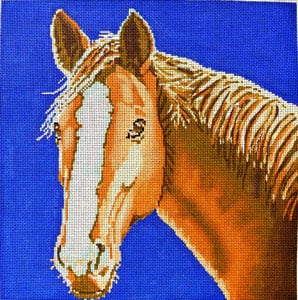 click here to view larger image of Horse (hand painted canvases)