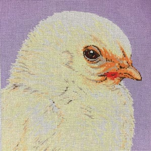 click here to view larger image of Baby Fluffy Chick (hand painted canvases)