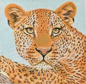 click here to view larger image of Leopard (hand painted canvases)