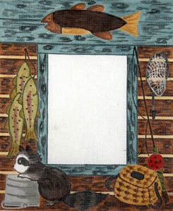 click here to view larger image of Bait Shop (hand painted canvases)