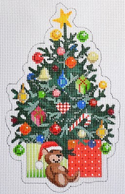 click here to view larger image of Christmas Tree (hand painted canvases)