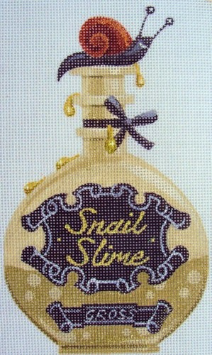 click here to view larger image of Snail Slime Halloween Bottle (hand painted canvases)