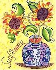 click here to view larger image of Sunflower (hand painted canvases)