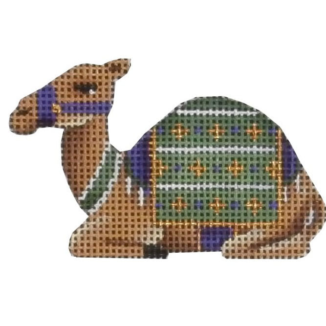 click here to view larger image of Advent Camel #1 (hand painted canvases)