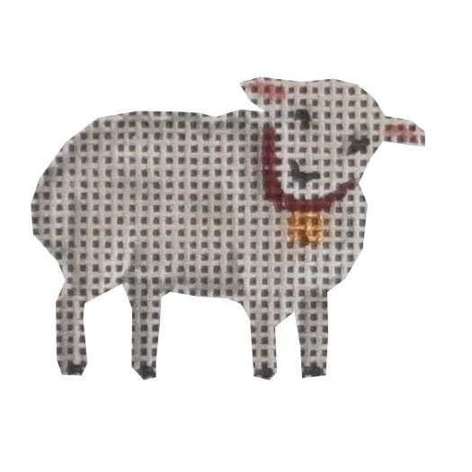 click here to view larger image of Advent Sheep #1 (hand painted canvases)