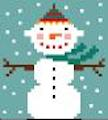 click here to view larger image of Snowboy (hand painted canvases)
