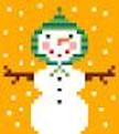 click here to view larger image of Snowbaby (hand painted canvases)