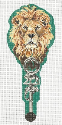 click here to view larger image of Jungle On A Stick - Lion (hand painted canvases)