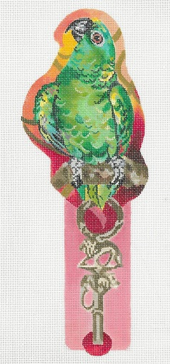 click here to view larger image of Jungle On A Stick - Parrot (hand painted canvases)