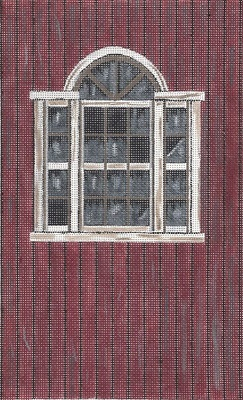click here to view larger image of Broad Side Of A Barn Window (hand painted canvases)