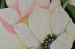click here to view larger image of Giant White Tulips (hand painted canvases)