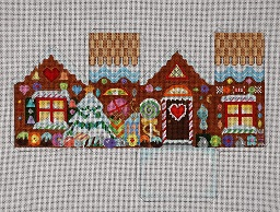 click here to view larger image of Candyland Cottage (hand painted canvases)
