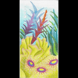 click here to view larger image of Anemone Undersea EGC (hand painted canvases)