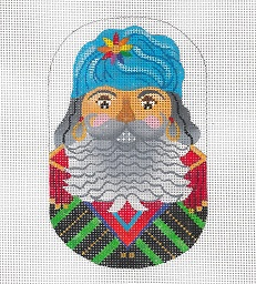 click here to view larger image of Basque Nutcracker  (hand painted canvases)