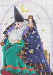 click here to view larger image of Celestial Wizard (hand painted canvases)