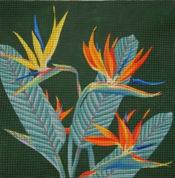 click here to view larger image of Giant Bird Of Paradise (hand painted canvases)