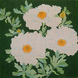 click here to view larger image of Giant Matilija Poppy (hand painted canvases)