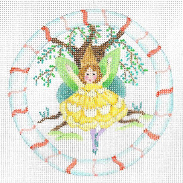 click here to view larger image of Forest Buttercup Fairy (hand painted canvases)
