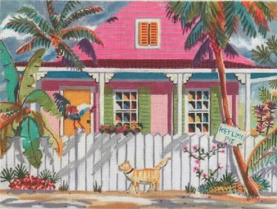 click here to view larger image of Key West Characters (hand painted canvases)