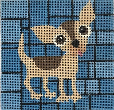 click here to view larger image of Chihuahua (hand painted canvases)