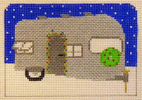 click here to view larger image of Airstream Holiday (hand painted canvases)