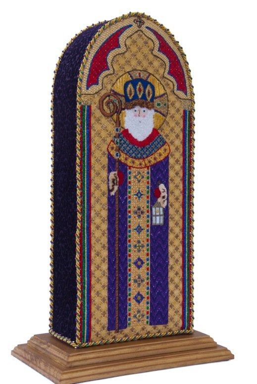 click here to view larger image of Byzantine St. Nicholas (hand painted canvases)