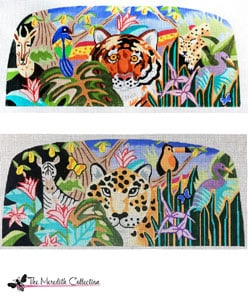 click here to view larger image of Jungle Safari (hand painted canvases)