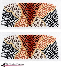 click here to view larger image of Animal Skins Two (hand painted canvases)