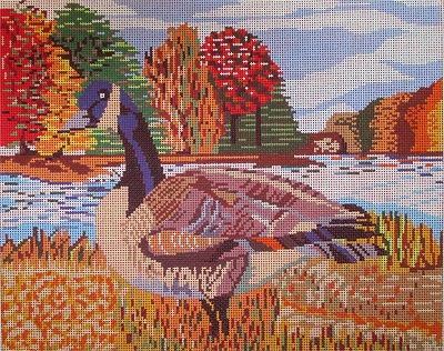 click here to view larger image of Canadian Goose (hand painted canvases)