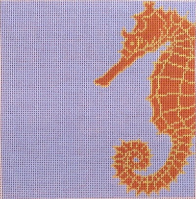 click here to view larger image of Coastal Seahorse (hand painted canvases)