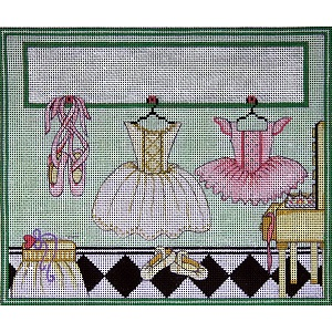 click here to view larger image of Ballerina's Room (hand painted canvases)