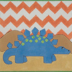 click here to view larger image of Blue Stegasaurus (hand painted canvases)