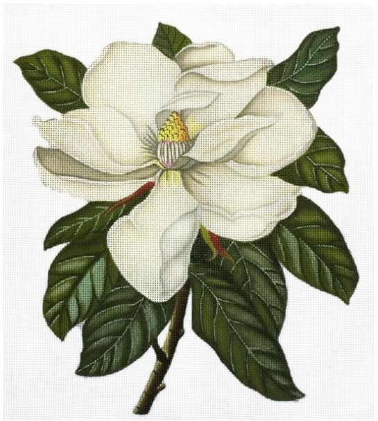 click here to view larger image of Magnolia (hand painted canvases)