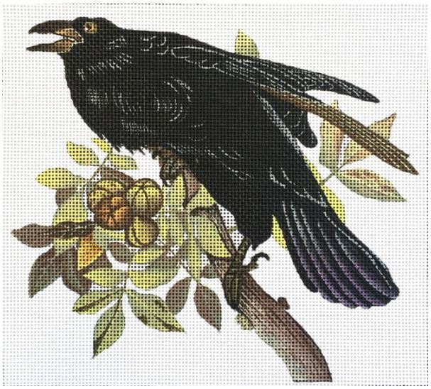 click here to view larger image of Vintage Raven (hand painted canvases)