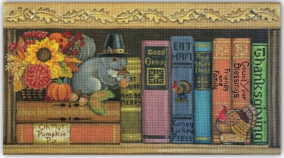 click here to view larger image of Thanksgiving Books  (hand painted canvases)