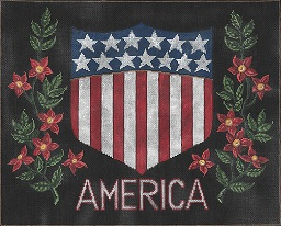 click here to view larger image of Americana (hand painted canvases)