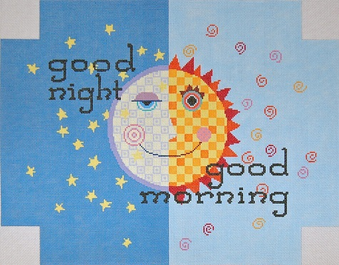 click here to view larger image of Good Morning (hand painted canvases)