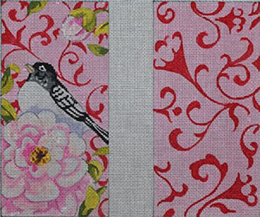 click here to view larger image of Bird / Rose (hand painted canvases)