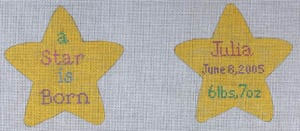 click here to view larger image of A Star is Born (hand painted canvases)