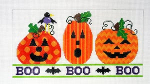 click here to view larger image of Boo Boo Boo with Stitch Guide (hand painted canvases)