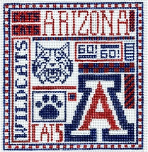click here to view larger image of University of Arizona (hand painted canvases)