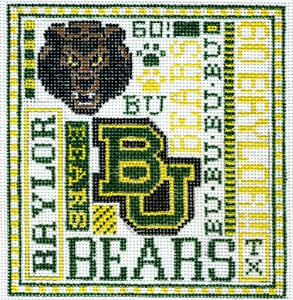 click here to view larger image of Baylor University (hand painted canvases)