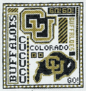 click here to view larger image of Colorado University (hand painted canvases)